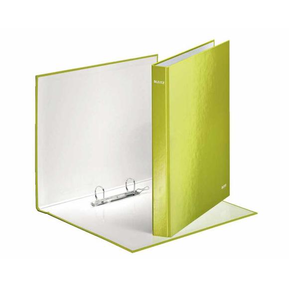 Leitz 2 Halkalı Klasör WOW Metalik Yeşil 4241-64