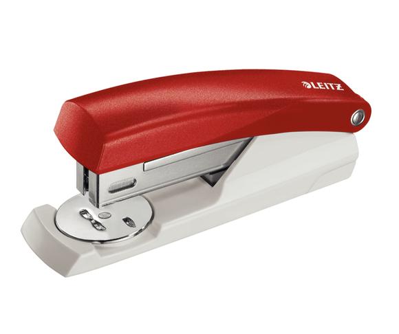 Leitz 25 Sayfa Kapasiteli Zımba Makinesi Kırmızı 5501-25
