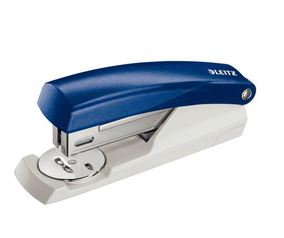 Leitz 25 Sayfa Kapasiteli Zımba Makinesi Mavi 5501-35