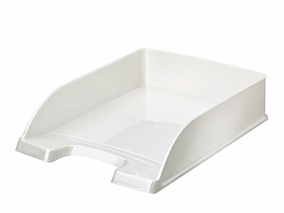 Leitz WOW Evrak Rafı Metalik Beyaz 52263001