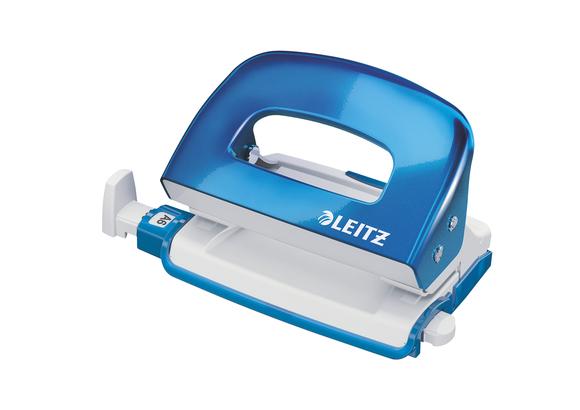 Leitz WOW Mini 10 Sayfa Kapasiteli Delgeç Metalik Mavi 5060-36