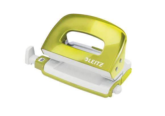 Leitz WOW Mini 10 Sayfa Kapasiteli Delgeç Metalik Yeşil 5060-64