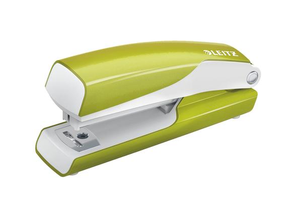 Leitz WOW Mini Zımba Makinesi 10 Sayfa Kapasiteli Metalik Yeşil 5528-64