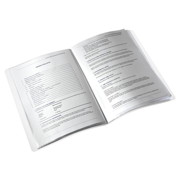 Leitz Wow Sunum Dosyası 20'li Metalik Buz Mavisi 46310051