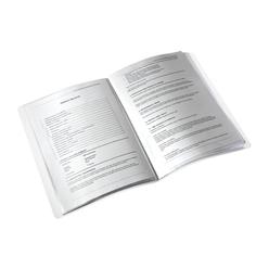 Leitz Wow Sunum Dosyası 20'li Metalik Mavi 46310036 - Thumbnail