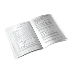 Leitz Wow Sunum Dosyası 40'lı Metalik Mor 46320062 - Thumbnail
