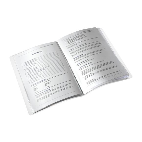 Leitz Wow Sunum Dosyası 40'lı Metalik Mor 46320062