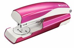 Leitz WOW Zımba Makinesi 30 Sayfa Kapasiteli Metalik Pembe 5502-23 - Thumbnail