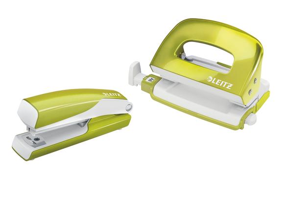 Leitz WOW Zımba Makinesi ve Delgeç Set Metalik Yeşil 5561-64