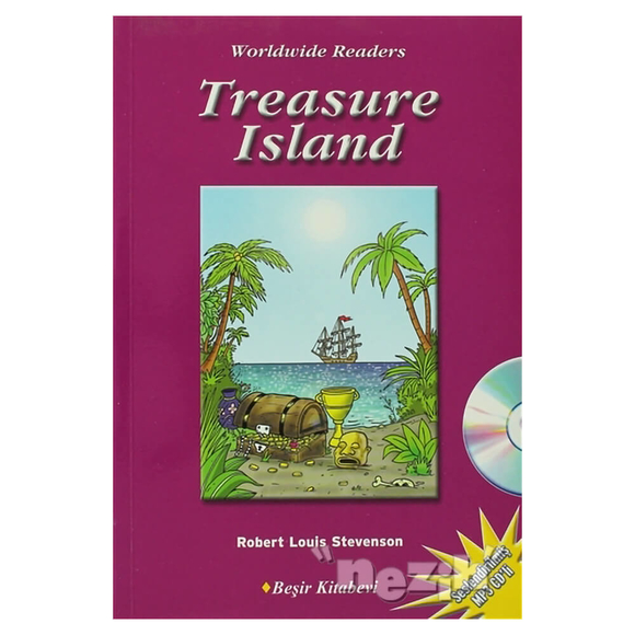 Level-5: Treasure Island (Audio CD'li)