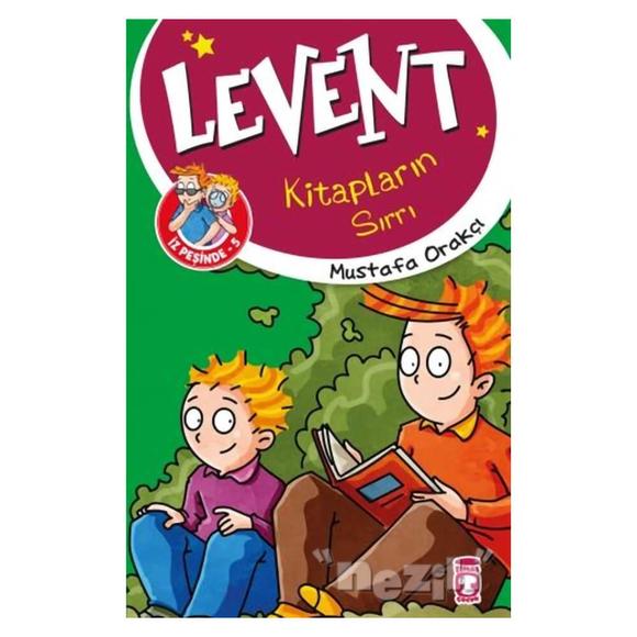 Levent Kitapların Sırrı / Levent İz Peşinde 5