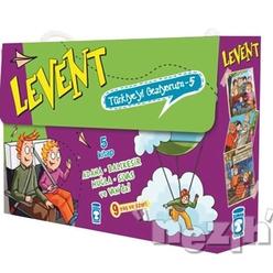 Levent Türkiye'yi Geziyorum - 5 (5 Kitap Takım) - Thumbnail
