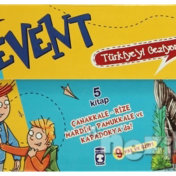 Levent: Türkiye'yi Geziyorum Seti (5 Kitap Takım Kutulu )