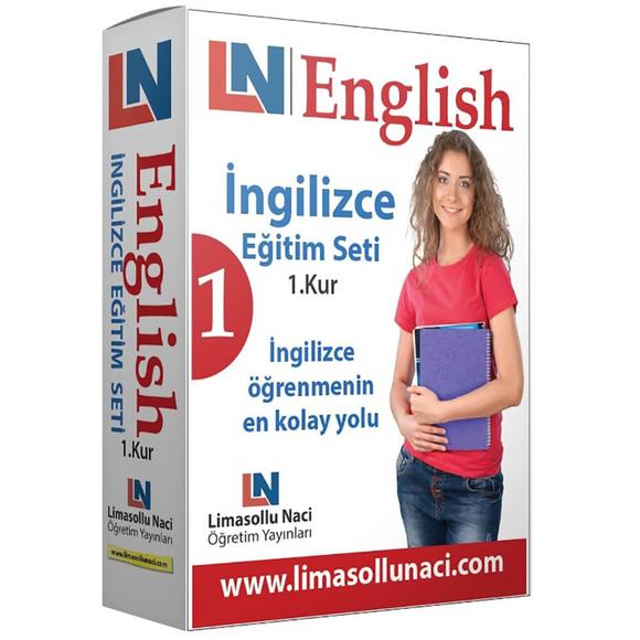 Limasollu Naci 1.Kur LN İngilizce Eğitim Seti
