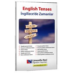Limasollu Naci İngilizce'de Zamanlar Kitabı-English Tenses - Thumbnail
