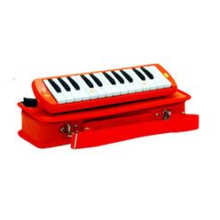 Lino Melodika 32 Tuşlu Çantalı Kırmızı LN-32 - Thumbnail