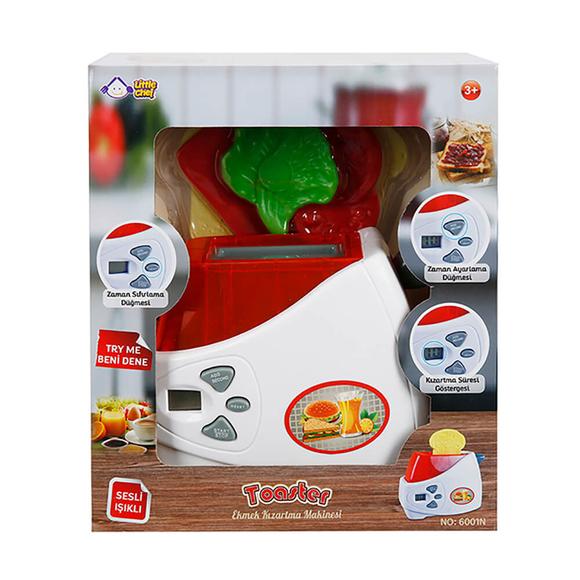 Little Chef Ekmek Kızartma Makinesi Sesli Ve Işıklı S01001327