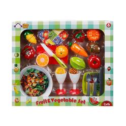 Little Chef Meyve Set Kesmeli 30 Parça S00001974 - Thumbnail