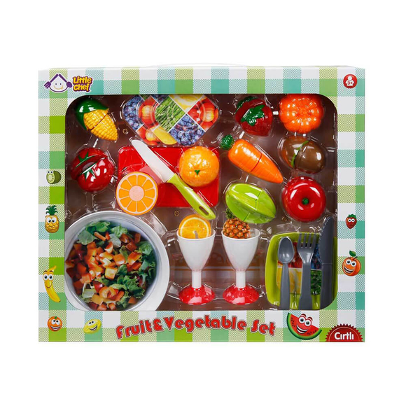 Little Chef Meyve Set Kesmeli 30 Parça S00001974