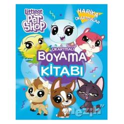 Littlest Pet Shop - Çıkartmalı Boyama Kitabı - Thumbnail