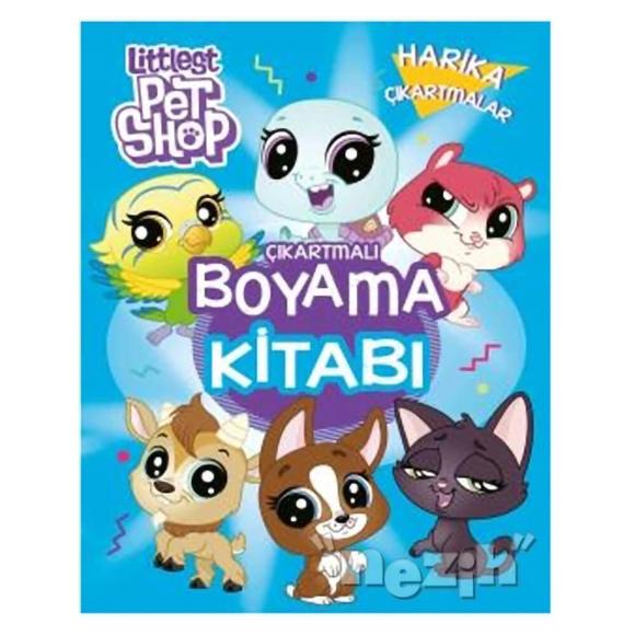 Littlest Pet Shop - Çıkartmalı Boyama Kitabı