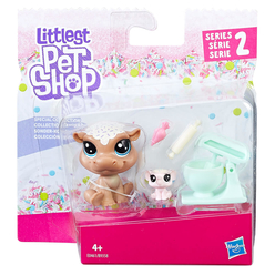 Littlest Pet Shop Miniş ve Yavrusu B9358 - Thumbnail