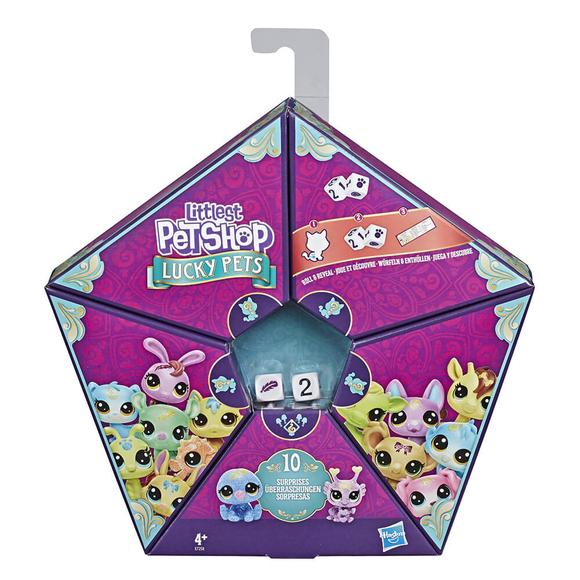 Lıttlest Pet Shop Şanslı Minişler Şans Ekibi 4'Lü Sürpriz Paket E7258