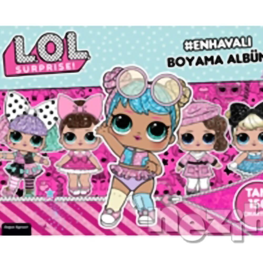 Lol Surprise En Havali Boyama Albumu Nezih