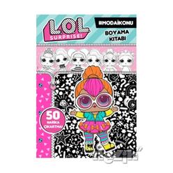Lol Surprise! Moda İkonu Boyama Kitabı - Thumbnail