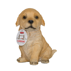 London Giftstore Köpek Figürü Biblo Seramik QMR4311 - Thumbnail