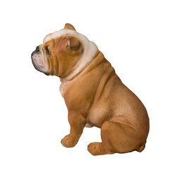 London Giftstore Köpek Figürü Biblo Seramik QMR4597 - Thumbnail
