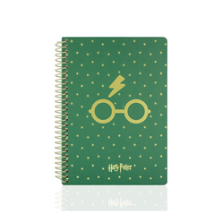 Mabbels Butik Harry Potter 24x17 cm Spiralli Defter 95 Yaprak - Thumbnail