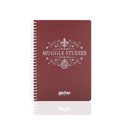 Mabbesl Butik Muggle Studies 24x17 cm Spiralli Defter 95 Yaprak - Thumbnail