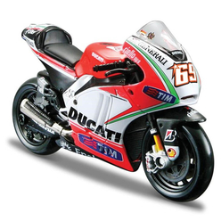 Maisto 2012 Ducati Desmosedici Motosiklet 1:18 Ölçek 34582 - Thumbnail