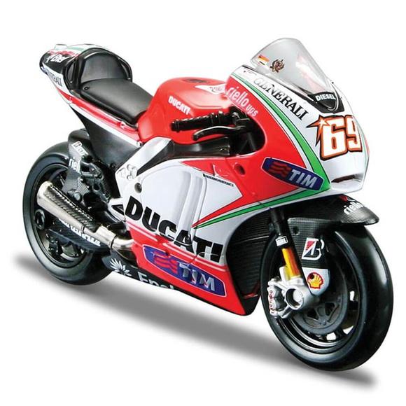 Maisto 2012 Ducati Desmosedici Motosiklet 1:18 Ölçek 34582