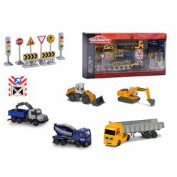 Majorette Big Construction Theme Set 212057972 - Thumbnail
