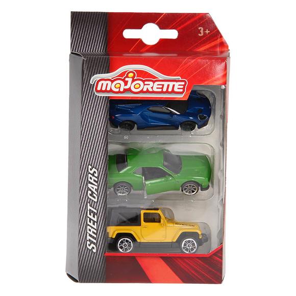 Majorette Street Cars 3'lü Araba Seti 205227