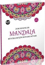 Mandala Büyükler İçin Zor Desenler - Thumbnail