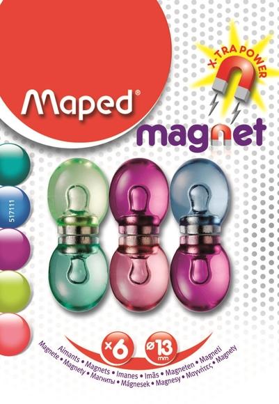 Maped Fancy Mıknatıs 6'lı 517111