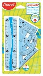 Maped Flex Mini Cetvel Seti 4'lü 244069 - Thumbnail