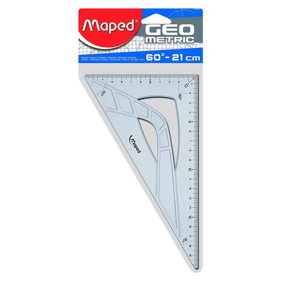 Maped Geometrik Gönye 21 cm 242621