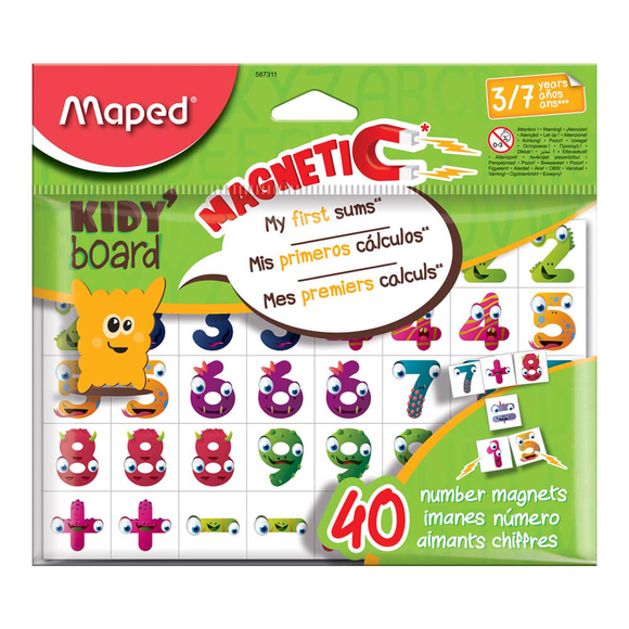 Maped Kidy Board Mıknatıslı Rakam 587311