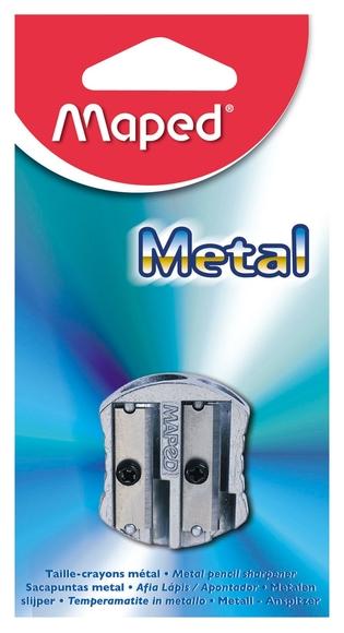 Maped Klasik Metal Çift Delikli Kalemtıraş 506700