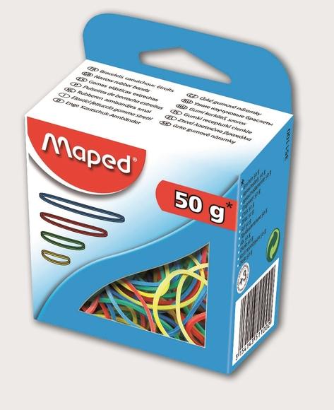 Maped Renkli Ambalaj Lastiği 50 gr 351100