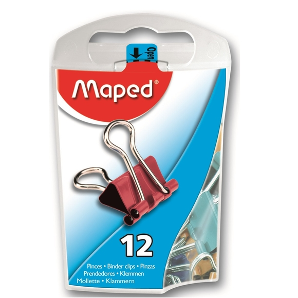 Maped Renkli Kıskaç 12'li 361211