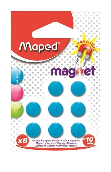 Maped Standart Mıknatıs 10 mm 8'li 051100