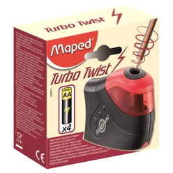Maped Turbo Twist Pilli Kalemtıraş 026031 - Thumbnail