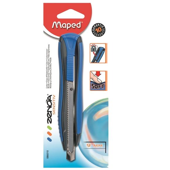 Maped Zenoa Sensitiv Maket Bıçağı 9 mm 086010