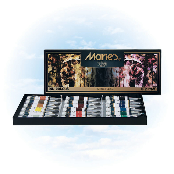 Maries Yağlı Boya 18 Renk E1382