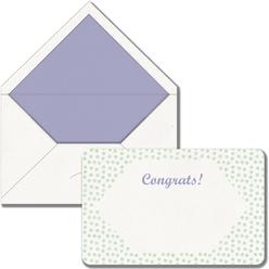 Maritera Pastel Puantiyeli Congrats Baskılı Tebrik Kartı - Thumbnail